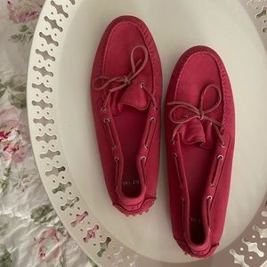 Cole Haan Hot Pink Loafers 💓